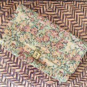 Vintage Tapestry Clutch